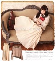 Harajuku Mori girl style tank dress patchwork lolita girl winter faldas long sleeve cotton novelty dress set vestidos Oncinha