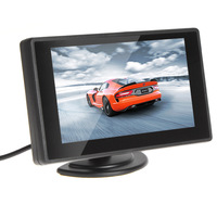 4.3 Inch Color TFT Car Monitor Support 480 x 272 Resolution + Car Rear-view Syste