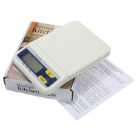 3 pcs/Lot  _ 3KG/0.5G Digital LED LCD Electronic Kitchen Weight Scale