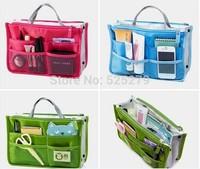 HOT Sale ! 3 Colors Make up organizer bag Women Men Casual travel bag multi functional Cosmetic Bag storage bag in bag Handbag