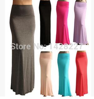 Длинная юбка повязки винтажный геометрический ну вечеринку женщины в хлопок макси юбка