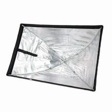 Promotion Versatile Softbox Nylon Photo Studio Photography 60*90cm Umbrella Softbox Camera Reflector Kit for Speedlite Flash