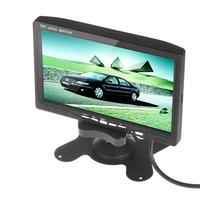 7 Inch TFT LCD Color Car Rear View DVD VCR Monitor + 7 IR LED Lights Car Rear View Camera