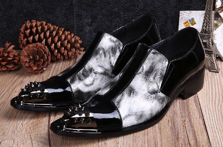 Кожаная обувь красится