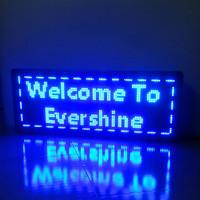 P10 Blue Color  LED Shop Message Panel  Size H390mm x w1030mm Alibaba Wholesale