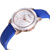 Design! Original Brand SKONE Luxury Women Fashion Genuine Leather Strap Watches Women Quartz Waterproof Watches Top Quality