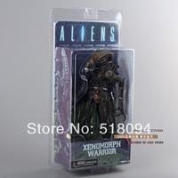 "Free Shipping NECA Aliens Xenomorph Warrior Series PVC Action Figure New in Box 7""18CM MVFG116"
