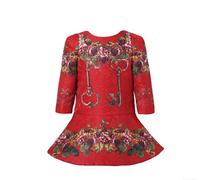 High End 2014123 girl print dress  children princess floral dress,designer kids dobby dress girls' floral dresses