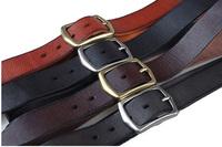 2015 brand luxury men designer belt crazy horse leather casual style TIDING 5023