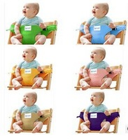 Free shipping Baby Chair Portable Infant Seat Safety Belt Feeding High Chair Harness baby carrier sling,CY-SS02
