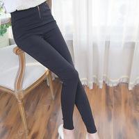 A771 new winter color zipper Leggings fashionable slim nine feet pencil pants wholesale