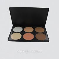 6 Warm Color grooming powdery cak Makeup Palette