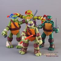 TMNT Teenage Mutant Ninja Turtles PVC Action Figure Collection Model Toys Classic Toys Christmas Gift 4pcs/set MVFG155