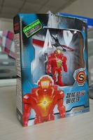 Amazing Remote Sensing Flying Fairy Iron Man Doll Toy brinquedos juguete Christmas Gift,Flying Iron Man Sensor RC Helicopter