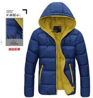 Winter jackets waterproof women men's hood wadded jackets men winter jackets men winter coat for men down jackets
