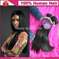 10a Peruvian unprocessed virgin hair straight  natural black king Hair Extension 3pcs/lot Straight new star Human Hair Weaves