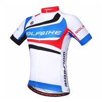 WOLFBIKE Unisex Short Sleeve for Ciclismo Cycling Jersey bicycle Jersey Quick Dry Bike Clothing Sportswear Summer size M-3XL