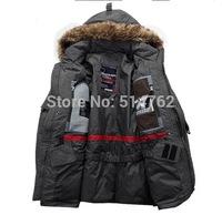 2014 new fashion men parkas, men's down jacket,keep warm-and waterproof have plus size 5xl size men's down jacket