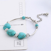Min order is $10 (mix items)New Arrivel Hot Sell G Love small flower ornaments bracelet Fashion Jewelry for women
