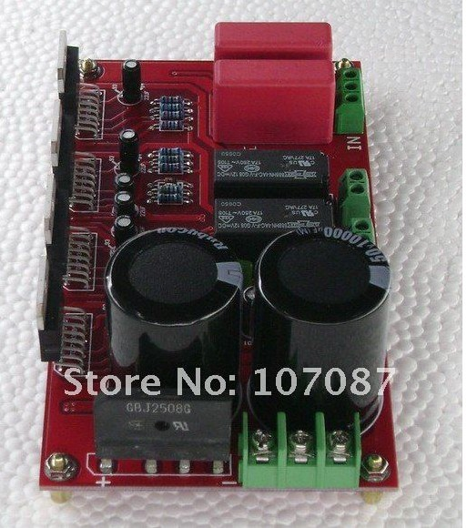 2015 EMS Free shipping 150W*2 TDA7294 BTL & Speakers Protected KIT Audio Amplifier(China (Mainland))