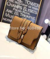 2014 New Fashion Multi-layer Embossed  Women Leather Handbag Mini Tote Bag Purse and Handbags bolsas femininas 0209A