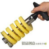 Easy Kitchen Tool Stainless Steel Fruit Pineapple Corer Slicer Cutter Peeler Free Shipping