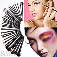 Promotion Lowest Price 35pcs Cosmetic Make Up Brush Kit Makeup Brushes Tools Set + Black Pouch Bag SV05 SV012603