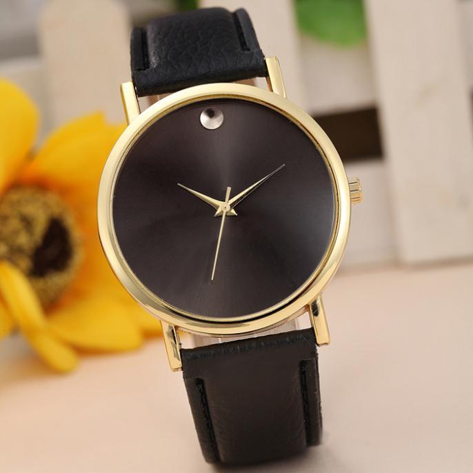 Drop Shipping Style Fashion Quartz Casual Watch Women Dress Watch Retro Design Leather Band Analog Alloy Wristwatch High Quality(China (Mainland))