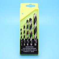5pcs HCS Three Sharp Woodworking Drill Bit For Hand Drill/Electric Drills/Impact Drilling 4mm,5mm,6mm,8mm,10mm