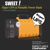 500W output AC 220v power bank portable power supply DC 12V 5V