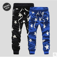 2015 New Men Printed Drop Crotch Harem Skinny Sweatpants Sports Baggy Pants Mens Casual Hip Hop Joggers Silm Bandana Trousers