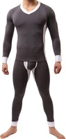 Men Male High Quality Modal Thermal Underwear Suits One Set Long Johns Sleepwear Pajamas Sets