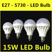 2014 The Latest Ultrabright LED Lamp E27 3W 5W 7W 9W 12W 15W AC 220V-240V Warm White/White Bulb Christmas Lights