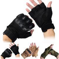 2015 New Cycling Bike Bicycle Motorcycle Men mens Sports warm keeping Half Finger Antiskid Glove black,khaki,army green S,M,L A2