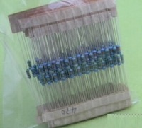 Free Shipping 1000pcs 1/4w Metal Film Resistors  +/- 1% (1R-3MR)Metal Film Resistor Assorted Kit New self selection