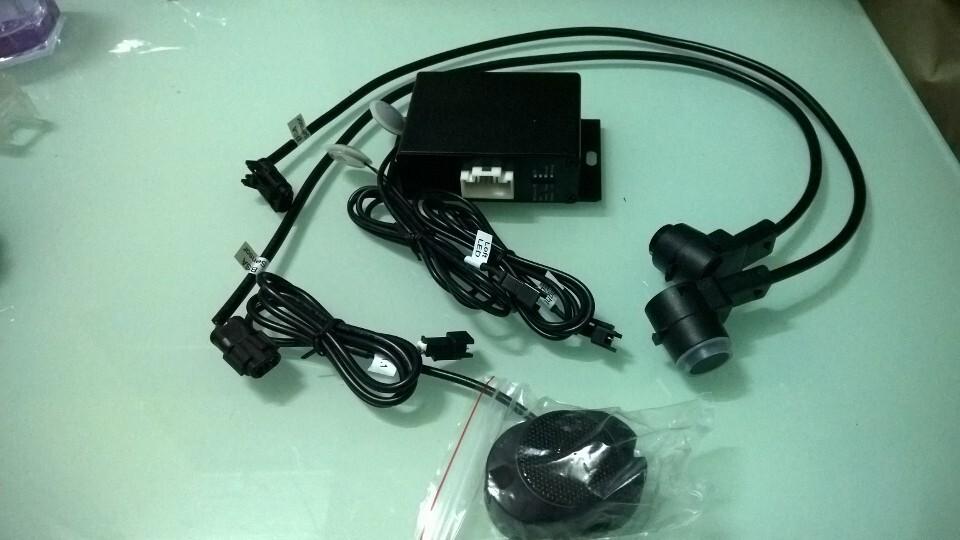 best choice buzzer model hot reversing parking sensor system 0261 BSA car blind spot assist system with 2 push-out PDC sensors(China (Mainland))