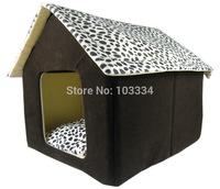 Super Soft British Style Pet House Luxury High Dog Room Cat Bed 62 X 52 X 52 Cm