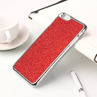 1 PCS New Shimmering Powder Designed Anti-knock Silicon Cell Phone Case For iPhone 6 Plus 5.5 inch  Luxury Back Cover Case