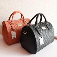 2013 Fashio designer handbag Mng plaid For women Shoulder/Messenger handbag mango black plaid bucket handbag dimond/brand bag