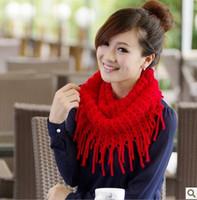 Winter Korea Multicolor Long Large Warm Soft Wrap Women Scarf Shawl Tassels knit women brand scarf Free Shipping X553