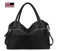 2014 New Popular Women PU & nylon handbags Casual Portable PU shoulder bags Sport PU handbag Cross-body bags BH072 Free Shipping