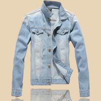 2014  menswear brand clothing polo cardigan sweater jacket hoodie men's fashion denim jacket jacket coat