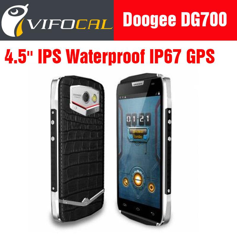 Original Doogee Titans2 DG700 IP67 Waterproof Dustproof Shockproof Android 5.0 Mobile Phone Quad Core 4.5'' IPS 8MP 1GB+8GB GPS(China (Mainland))