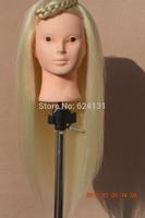 "20 "" High Temperature Fiber hairdresser mannequin head"