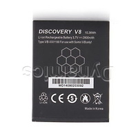 3.7V 2800mAh Rechargeable Lithium-ion Battery for Discovery V8 waterproof smartphone