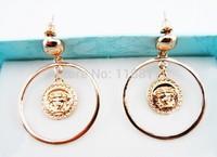 brand new fashion Luxury  high quality earrings Kors Letter earrings For Women Stud  Earrings
