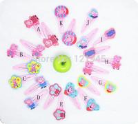 wholesale fesitive gifts 10pcs/lot children headwear girls hairgrips new fashion cute cartoon pig girl hairpin SM001