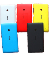 Original New Mobile Phone Shell Back Housing Door Battery Cover Case+ Side Key Buttons For Nokia lumia 520 ,5 Pieces/1 Lot,MC52L