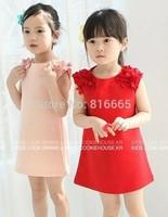 New 2014 autumn  girls' dresses, children's clothes, children's princess gauze clothes, girl dress