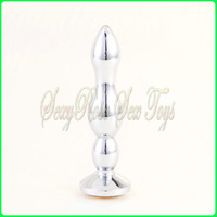 Metal anal toys,jeweled butt plug,Stainless steel anal plug,Sex toys,Sex products